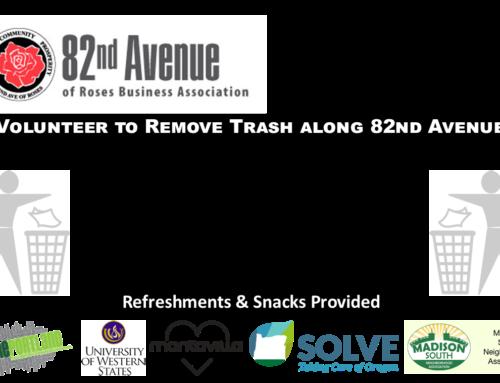 82nd Avenue Community Trash Clean Up